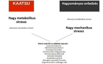 Miben különbözik egymástól a KAATSU és a hagyományos erőedzés?