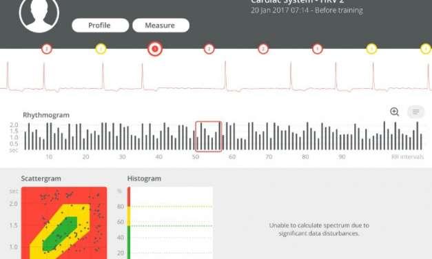 Súlyos szívproblémák előzetes észlelése az Omegawave-vel – Esettanulmány
