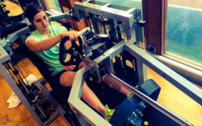 Formula edzés Tatiana Calderónnal