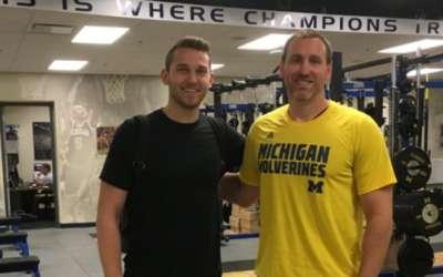 Hogyan alkalmazza a Michigan kosárlabda csapata az FMS-t (Jon Sanderson)