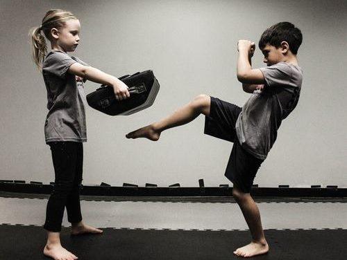 Krav Maga gyerek edzés