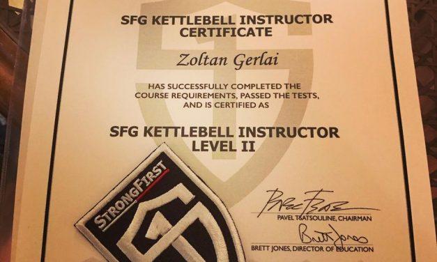 StrongFirst Kettlebell csoport Szentendrén